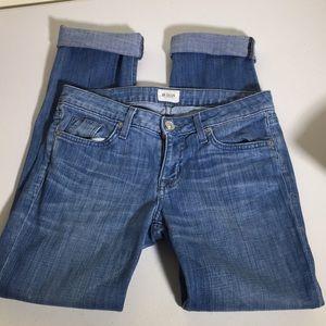 Hudson straight leg jeans size 27